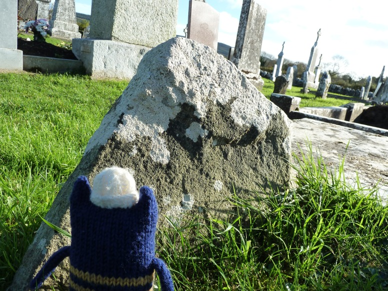 Explorer Beastie Among the Headstones - CrawCrafts Beasties