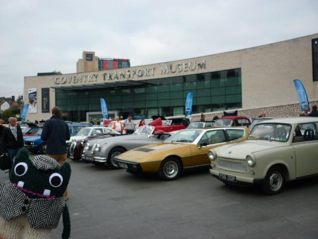 Plunkett at the Transport Museum - H Crawford/CrawCrafts Beasties