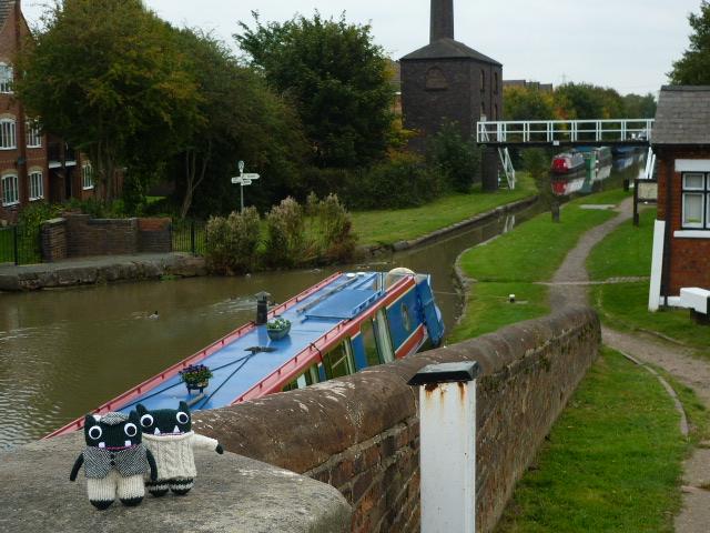 Paddy and Plunkett at Hawkesbury Junction - H Crawfod/CrawCrafts Beasties