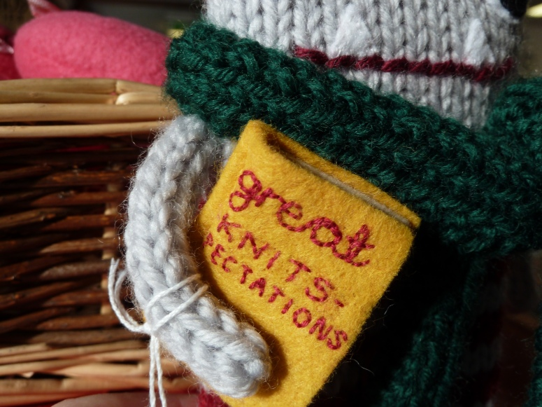 Great Knits-pectations Book, by CrawCrafts Beasties