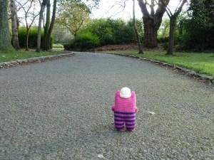 Sweetheart Beastie Leaves the Park - CrawCrafts Beasties