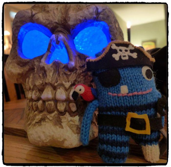 Pirate Beastie's Hallowe'en - N Rimmer/CrawCrafts Beasties
