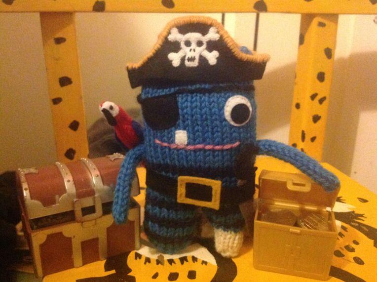 Pirate Beastie's Treasure - N Rimmer/CrawCrafts Beasties