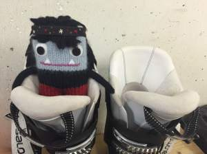 Big Ski Boots to Fill! S Allen/CrawCrafts Beasties