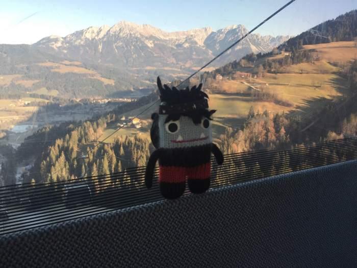 Garcia Beastie, King of the Mountains! S Allen/CrawCrafts Beasties