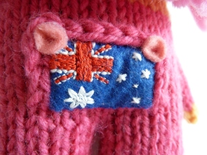 ... And an Aussie Flag! CrawCrafts Beasties