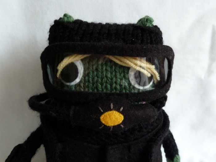 Diver Beastie, Ready For Action! CrawCrafts Beasties