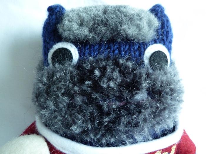 Antonello Beastie, After a Visit to the Beastie Barber - CrawCrafts Beasties