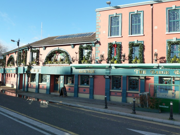 The Barge Pub, Grand Canal - CrawCrafts Beasties