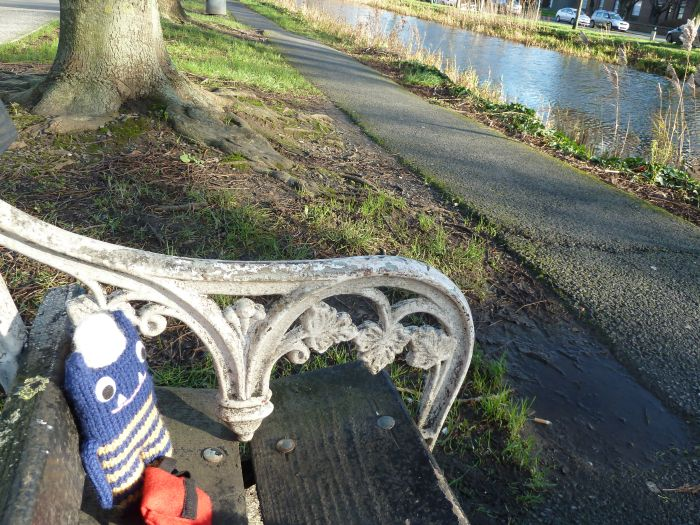 Relaxing by the Canal - CrawCrafts Beasties