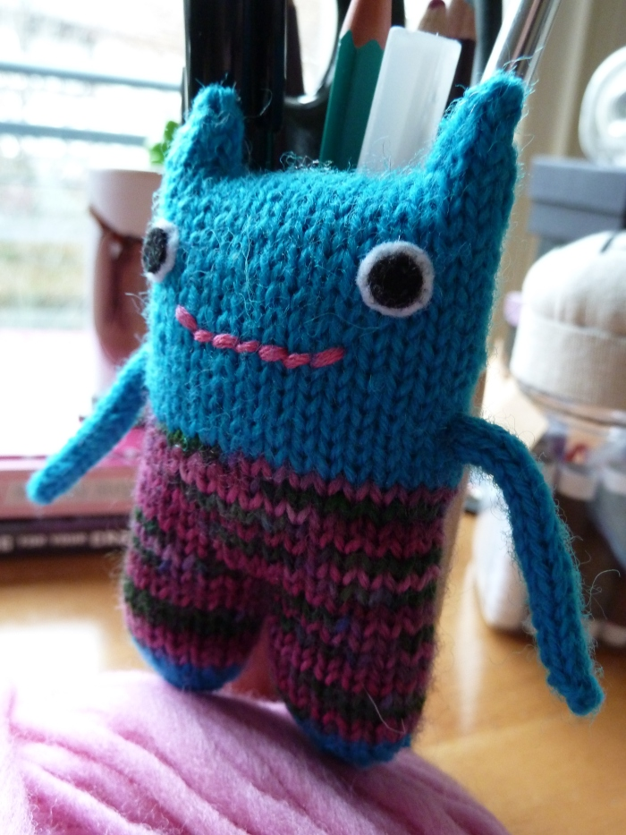 A Lesser-Spotted MiniBeastie, by CrawCrafts Beasties