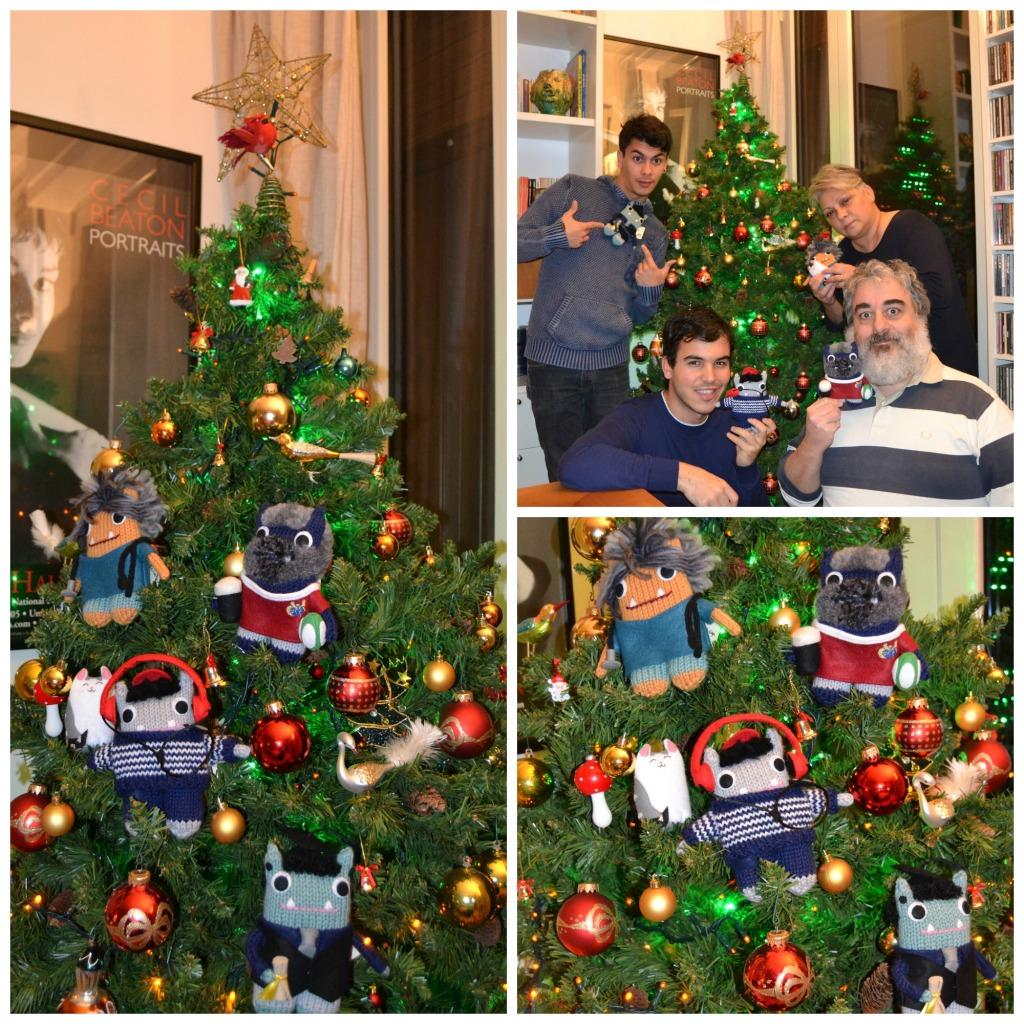 Everybody Around the Beastmas Tree - A de Girolamo/CrawCrafts Beasties