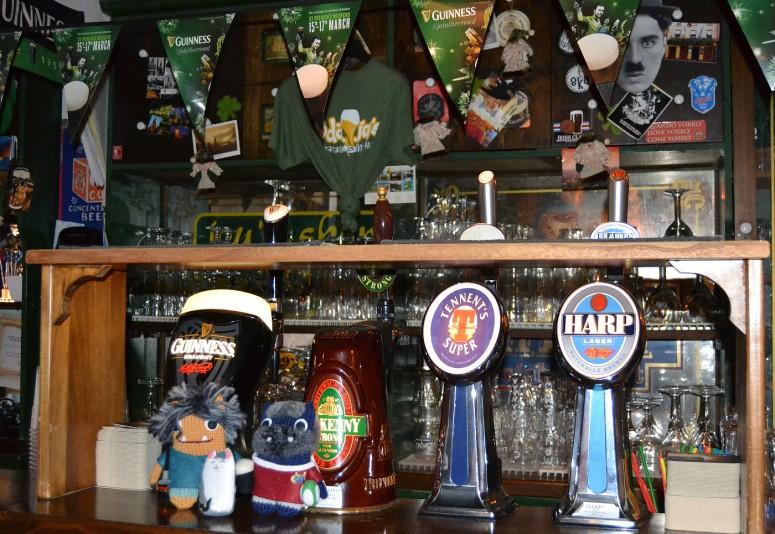 Beasties at the Bar - A de Girolamo/CrawCrafts Beasties