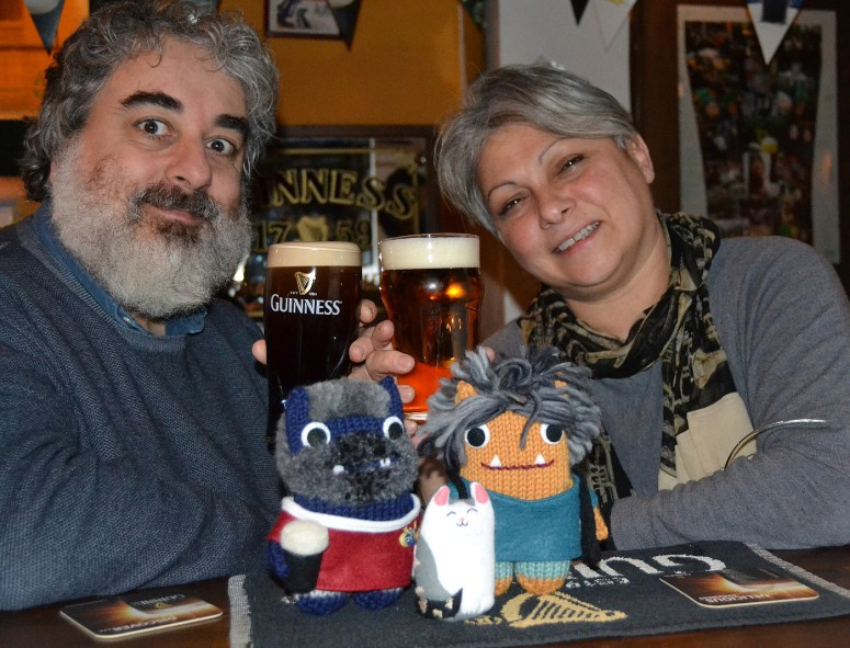 Monster Cheers! A de Girolamo/CrawCrafts Beasties