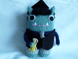 Ketto Beastie's Graduation Suit - CrawCrafts Beasties