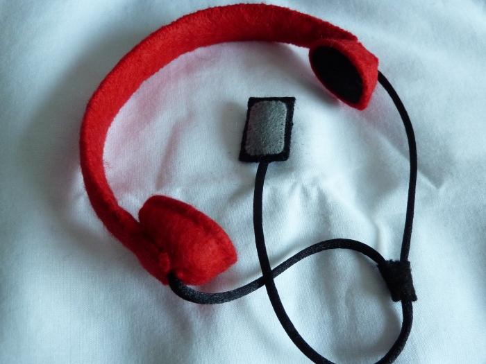 Antonio Beastie's Headphones, by CrawCrafts Beasties