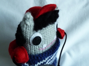 Antonio Beastie with Headphones - CrawCrafts Beasties