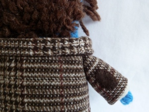 Doctor Who Beastie's Elbow Patches - CrawCrafts Beasties