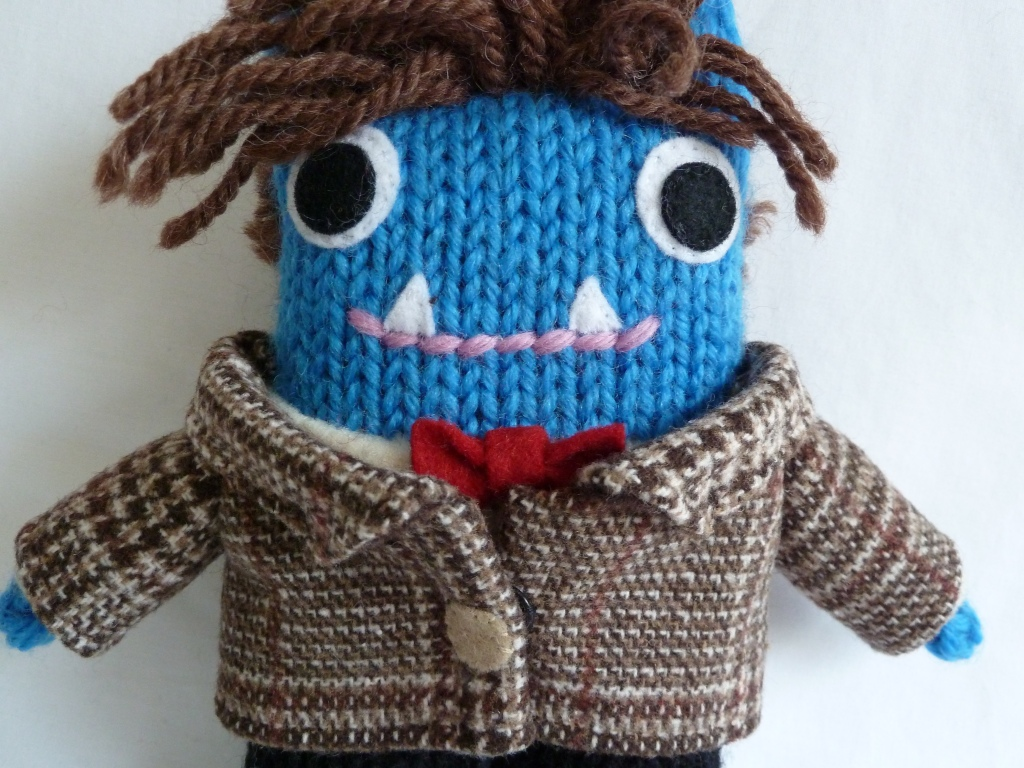 Doctor Who Beastie, by CrawCrafts Beasties