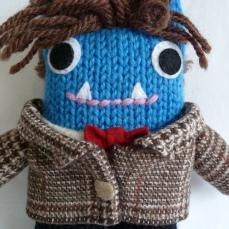 Doctor Who Beastie, by CrawCrafts Beasties
