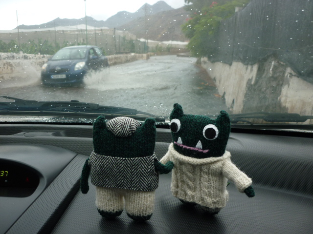 Beastie Road Trip In The Rain - H Crawfor/CrawCrafts Beasties
