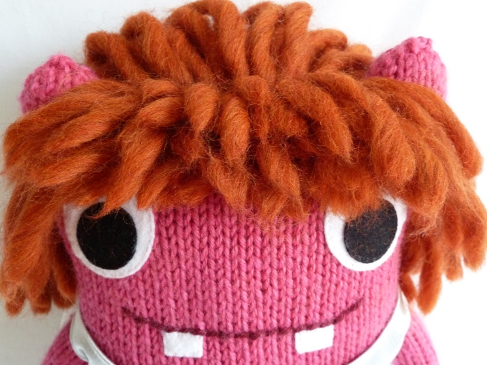 Christening Beastie's Hair - CrawCrafts Beasties