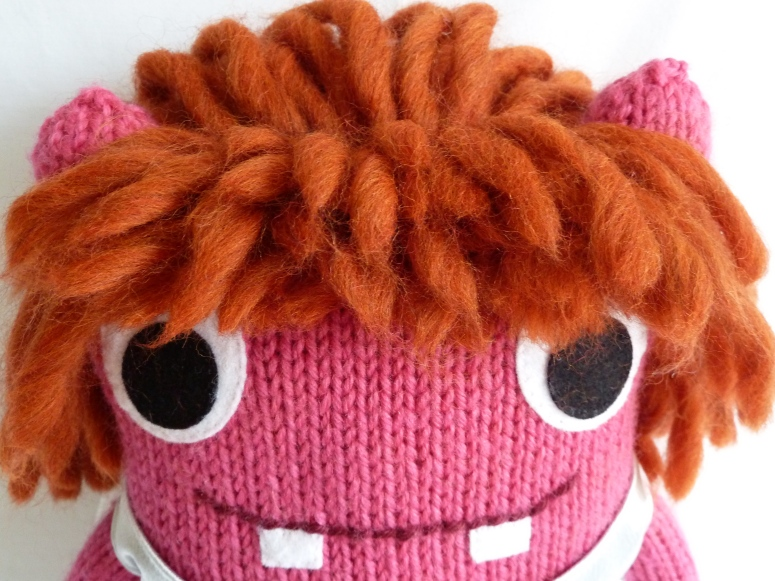 Christening Beastie's Hair - CrawCrafts Beasties