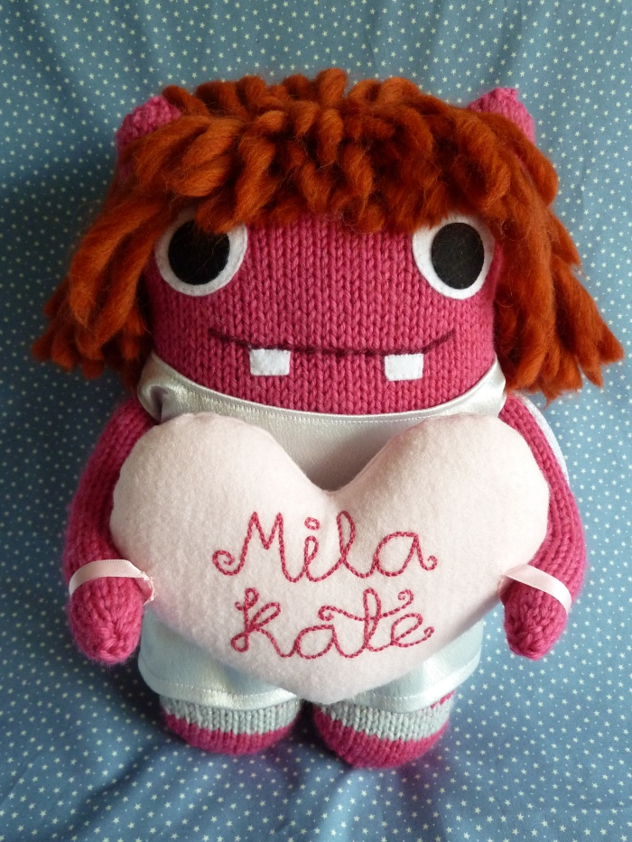 Christening Beastie With Her Heart - A Commission by CrawCrafts Beasties