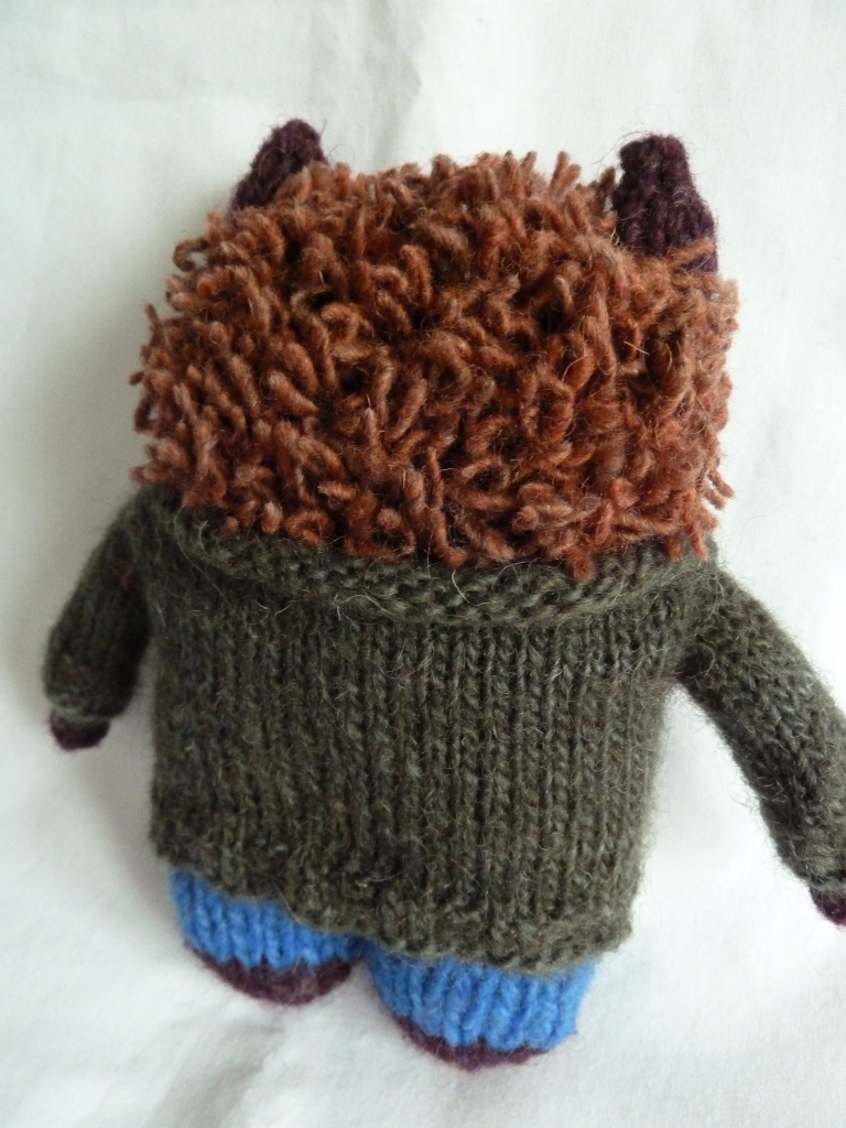S Twist Beastie's Hair and Sweater - CrawCrafts Beasties