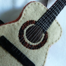 Beastie-Sized Acoustic Guitar, by CrawCrafts Beasties