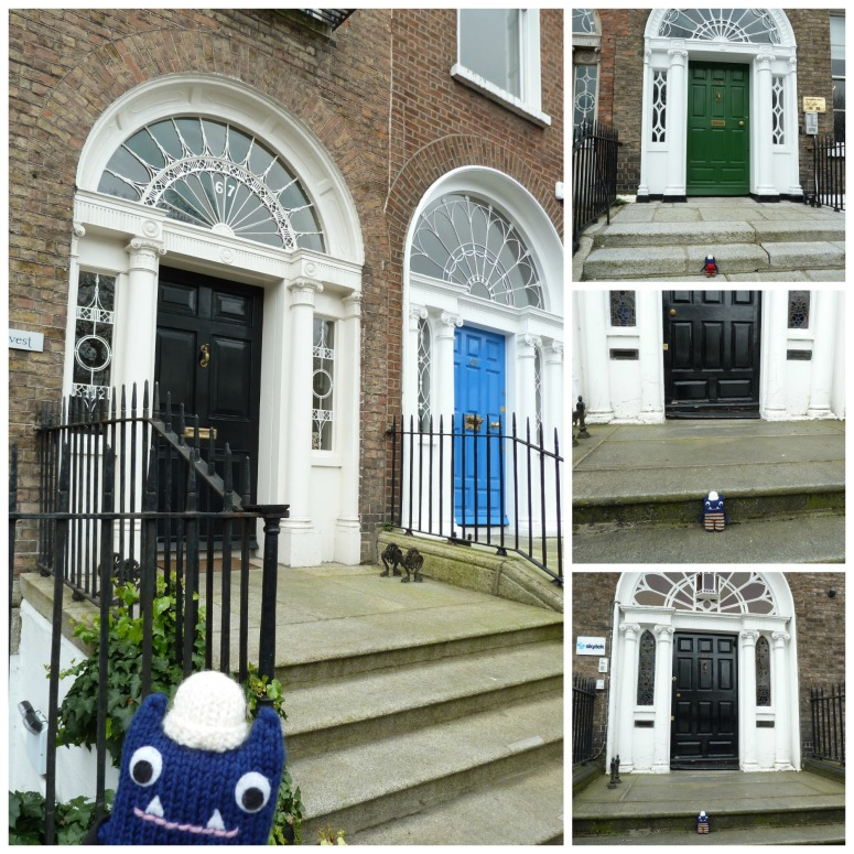 Georgian Doors in Dublin - CrawCrafts Beasties