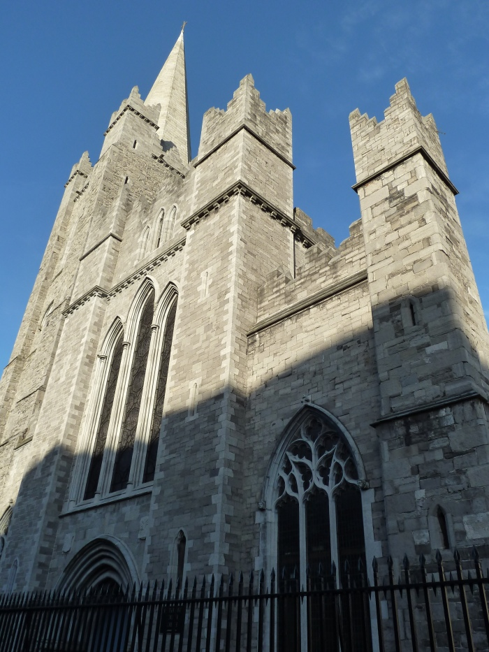 The Front of St Patrick's Cathedral - CrawCrafts Beasties