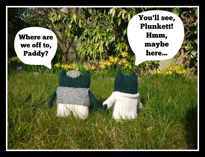 Paddy And Plunkett Frame 1 - H Crawford/CrawCrafts Beasties