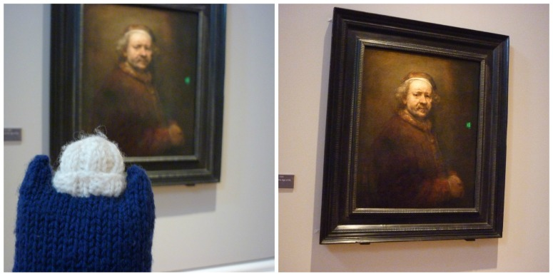 Rembrandt at the Ulster Museum - CrawCrafts Beasties
