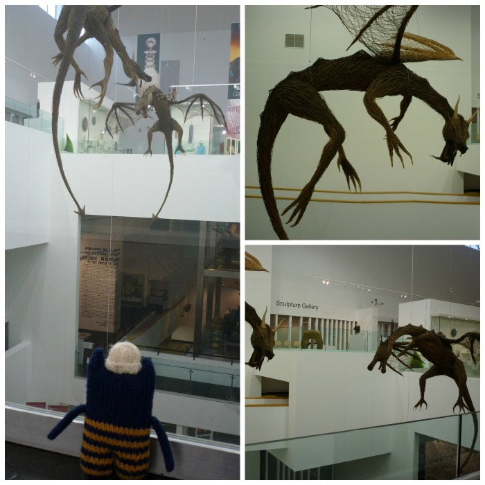 Willow Dragons at the Ulster Museum - CrawCrafts Beasties