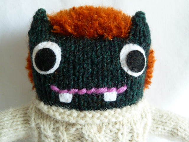 Redhead Barróg Beastie, by CrawCrafts Beasties