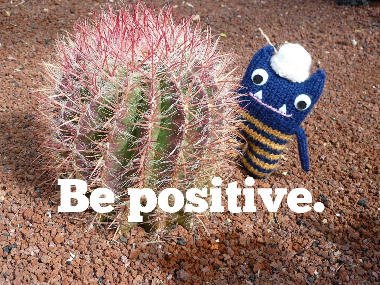 Hint No.1 - Be Positive (CrawCrafts Beasties)