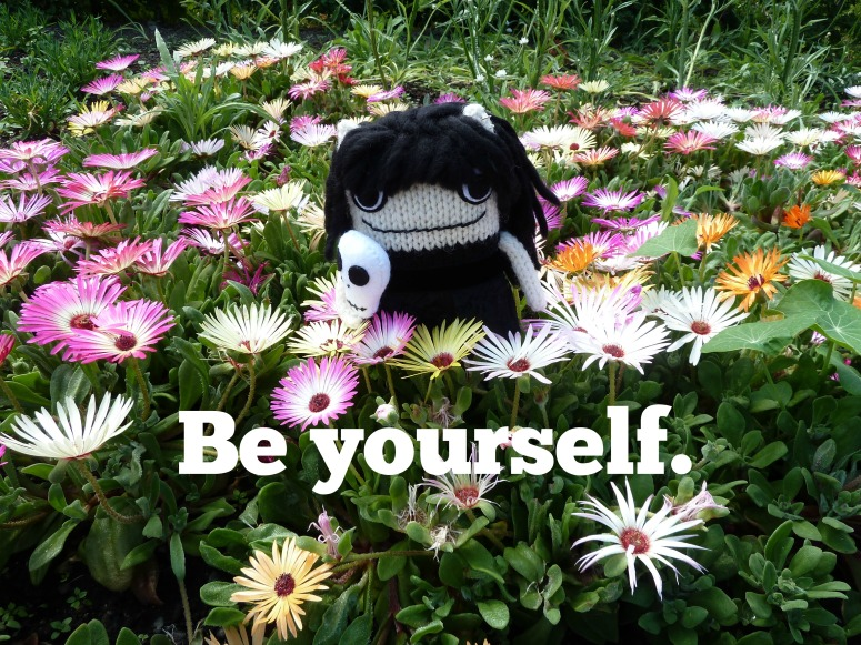 Tip No. 2 - Be Yourself (CrawCrafts Beasties)