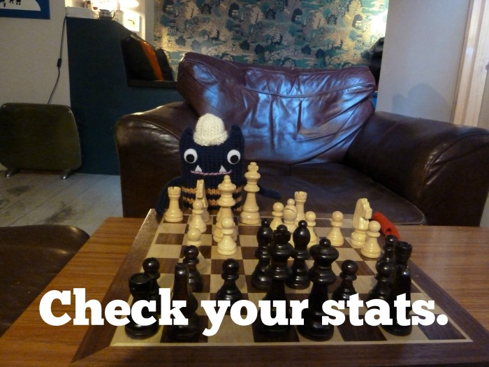 Tip No. 4 - Check your stats (CrawCrafts Beasties)