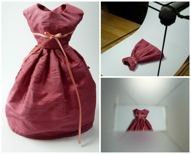 DinahsDolls Dress in the Lightbox - CrawCrafts Beasties
