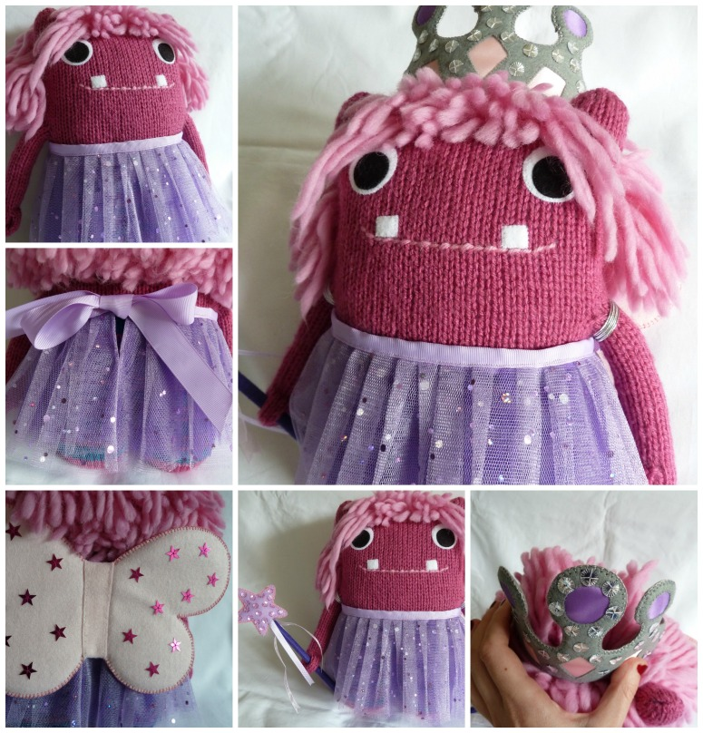 Fairy Princess Beastie Collage - CrawCrafts Beasties