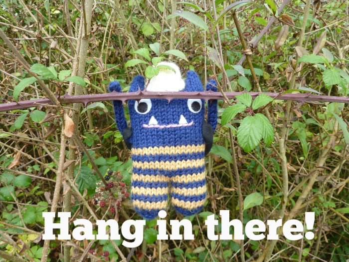 Tip No. 8 - Hang in there! (CrawCrafts Beasties)