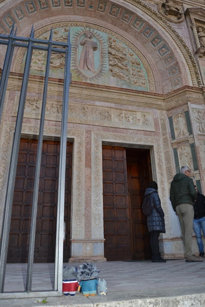 At St Bernardino Church - A de Girolamo/CrawCrafts Beasties