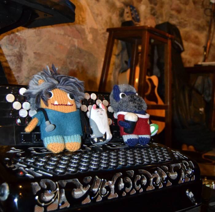 An Irish Pub, in Perugia! A de Girolamo/CrawCrafts Beasties