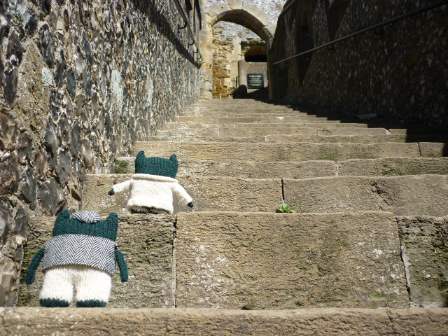 Climbing the Stairs to the Keep - H Crawford/CrawCrafts Beasties