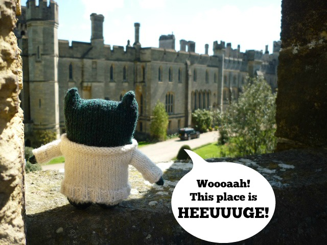 Paddy Gawps at Arundel Castle - H Crawford/CrawCrafts Beasties