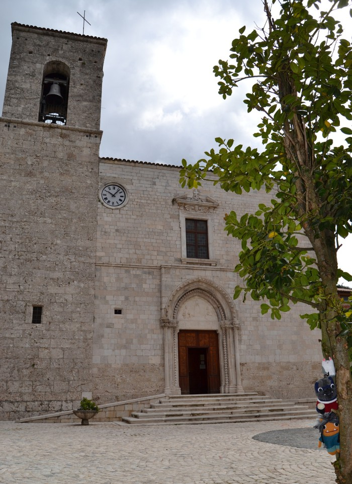Church of St Peter and St Paul, Pescasseroli - A de Girolamo/CrawCrafts Beasties