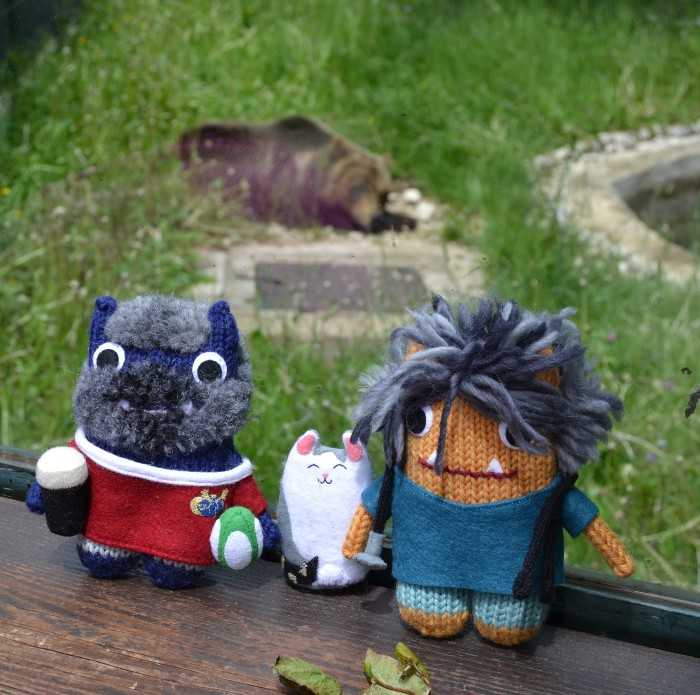 Beasties at Pescasseroli Park Zoo - A de Girolamo/CrawCrafts Beasties