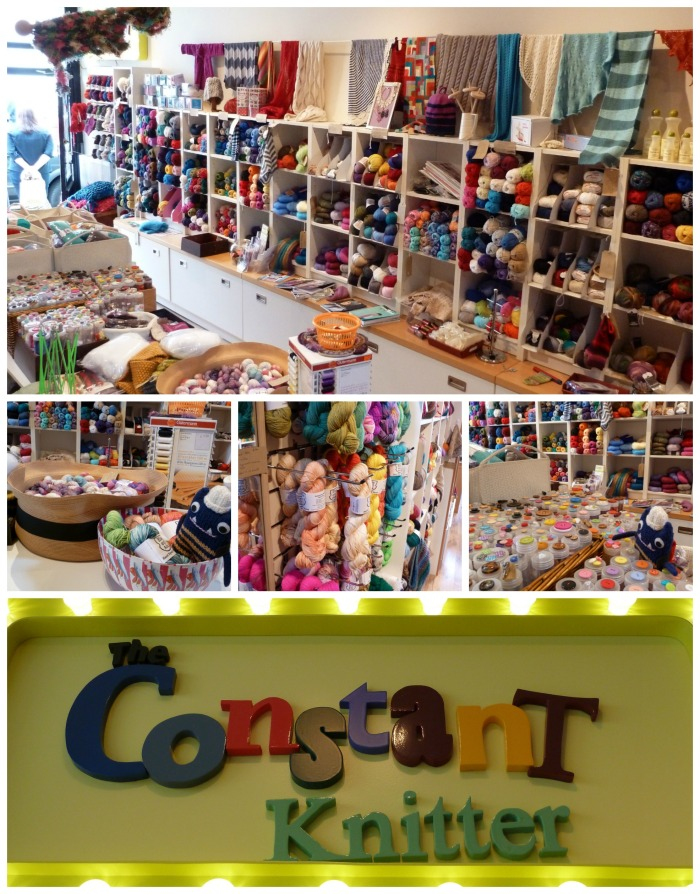 The Constant Knitter, Francis Street - CrawCrafts Beasties