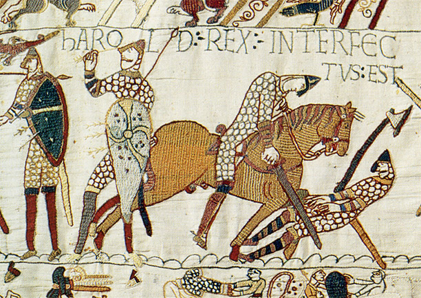 The Death of King Harold at the Battle of Hastings - Photo from historytoday.com